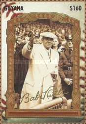 [The 100th Anniversary of the Birth of Babe Ruth, Baseball Player, 1895-1948, Typ ERU]