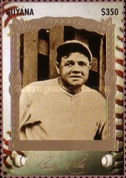 [The 100th Anniversary of the Birth of Babe Ruth, Baseball Player, 1895-1948, Typ ERY]