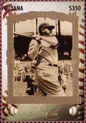 [The 100th Anniversary of the Birth of Babe Ruth, Baseball Player, 1895-1948, Typ ERZ]