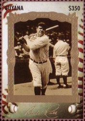 [The 100th Anniversary of the Birth of Babe Ruth, Baseball Player, 1895-1948, Typ ESA]