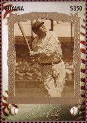 [The 100th Anniversary of the Birth of Babe Ruth, Baseball Player, 1895-1948, Typ ESB]