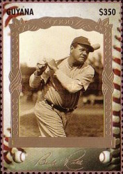[The 100th Anniversary of the Birth of Babe Ruth, Baseball Player, 1895-1948, Typ ESC]