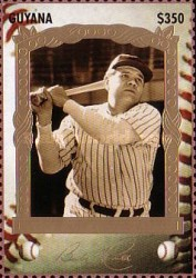 [The 100th Anniversary of the Birth of Babe Ruth, Baseball Player, 1895-1948, Typ ESE]