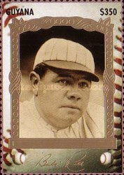 [The 100th Anniversary of the Birth of Babe Ruth, Baseball Player, 1895-1948, Typ ESF]