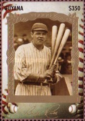 [The 100th Anniversary of the Birth of Babe Ruth, Baseball Player, 1895-1948, Typ ESG]
