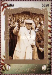 [The 100th Anniversary of the Birth of Babe Ruth, Baseball Player, 1895-1948, Typ ESI]