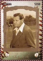 [The 100th Anniversary of the Birth of Babe Ruth, Baseball Player, 1895-1948, Typ ESJ]