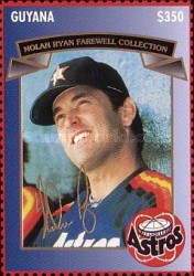 [The 2nd Anniversary of the End of the Active Career of Nolan Ryan, Typ ESR]