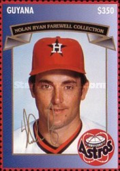 [The 2nd Anniversary of the End of the Active Career of Nolan Ryan, Typ ESS]