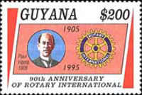 [The 90th Anniversary of Rotary International, Typ EZE]