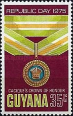 [Republic Day - Guyana Orders and Decorations, Typ FF]