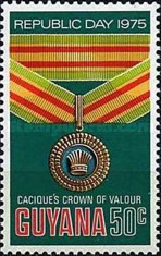 [Republic Day - Guyana Orders and Decorations, Typ FG]