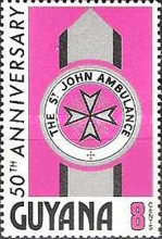 [The 50th Anniversary of St. John Ambulance in Guyana, Typ FZ]