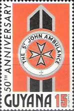 [The 50th Anniversary of St. John Ambulance in Guyana, Typ GA]