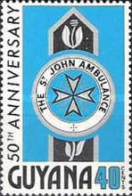 [The 50th Anniversary of St. John Ambulance in Guyana, Typ GC]