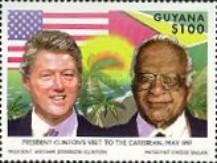 [Visit of U.S. President Bill Clinton in the Caribbean, Typ GCV]