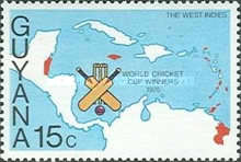 [West Indies Victory in World Cricket Cup, Typ GH]
