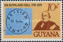 [The 100th Anniversary of Sir Rowland Hill, 1795-1879, Typ IF]