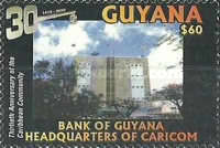 [The 30th Anniversary of the Caribbean Community, CARICOM, Typ IJQ]