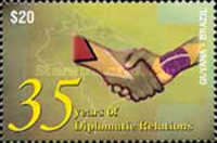 [The 35th Anniversary of Guyana-Brazil Diplomatic Relations, Typ INW]