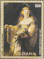 [The 400th Anniversary of the Birth of Rembrandt, 1606-1669, Typ IOH]