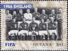 [The 100th Anniversary of FIFA, Federation Internationale de Football Association - World Cup Winning Teams, Typ IOZ]