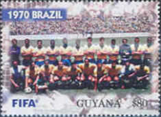 [The 100th Anniversary of FIFA, Federation Internationale de Football Association - World Cup Winning Teams, Typ IPA]