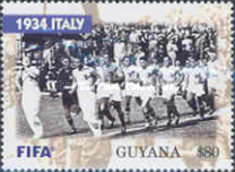 [The 100th Anniversary of FIFA, Federation Internationale de Football Association - World Cup Winning Teams, Typ IPD]