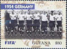 [The 100th Anniversary of FIFA, Federation Internationale de Football Association - World Cup Winning Teams, Typ IPE]