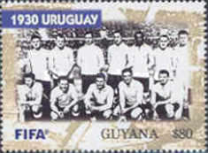 [The 100th Anniversary of FIFA, Federation Internationale de Football Association - World Cup Winning Teams, Typ IPF]