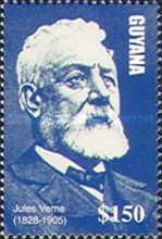 [The 100th Anniversary of the Death of Jules Verne, Writer, 1828-1905, Typ IUY]