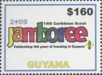 [The 14th Caribbean Scout Jamboree, Typ JBV]