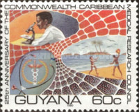 [The 25th Anniversary of Commonwealth Caribbean Medical Research Council, Typ JP]