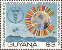 [The 25th Anniversary of Commonwealth Caribbean Medical Research Council, Typ JQ]