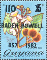 [The 125th Anniversary of the Birth of Lord Baden-Powell, 1857-1941 and the 75th Anniversary of Boy Scout Movement - Issues of 1971 Surcharged, Typ MN5]