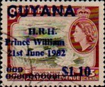 [Birth of Prince William of Wales - Overprinted