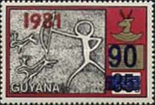 [National Heritage - Various Stamps Surcharged, Typ PM]
