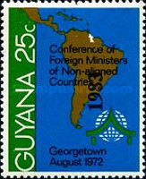 [Issue of 1972 Surcharged
