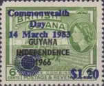 [Commonwealth Day - Issues of 1966 Overprinted
