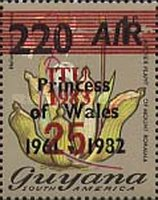 [World Telecommunications and Health Day - Issues of 1981 and 1982 Overprinted & Surcharged, Typ QG1]