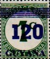 [Various Stamps Surcharged, Typ QR1]
