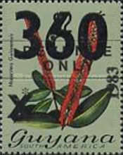[Various Stamps Overprinted, Typ RR]