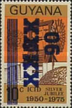 [Issue of 1975 Surcharged, Typ TN1]