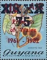 [Various Stamps Surcharged, type TS4]