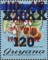 [Various Stamps Surcharged, Typ TS5]