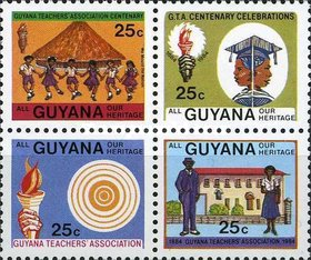 [The 100th Anniversary of Guyana Teachers' Association, Typ TW]