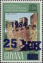 [The 60th Anniversary of International Chess Federation - Issue of 1983 Overprinted or Surcharged also, Typ UA]