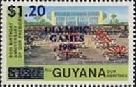 [Olympic Games - Los Angeles, USA - Issue of 1983 Surcharged, Typ UN]