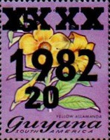 [Various Stamps Surcharged, Typ WA]