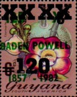 [Various Stamps Surcharged, type WA3]